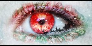 x-mas Eye by MaddyInVisibLe