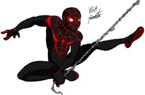 Spider-Man: Miles Morales by VGAfanatic
