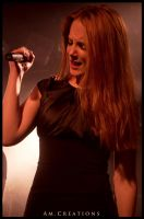Simone Simons. Live Norway 8 by AmCreationss