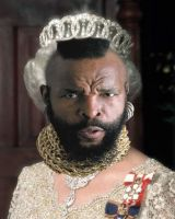 If Mr T was The Queen... by Lishu