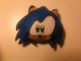 Sonica Plushie first look by SonicaSpeed