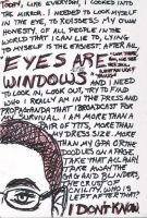 Eyes Are Windows by amberwind
