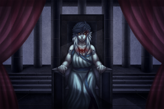 throne of past regrets by bittersweet-Grace