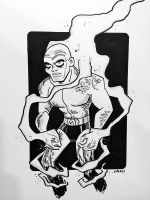 Metamorpho - Boston Comic Con 2015 by BillWalko