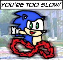 You're too slow! by thegamingdrawer