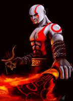 MK Tribute: Kratos by ThriceLW
