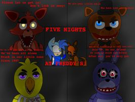 Art of Songs {5} {Five Nights at Freddy's} by SpadeAliceWolf321