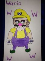 Wario by airbornewife71