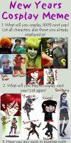 New Years Cosplay Meme 2013 by AuthenticEm