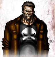 E J Su's Punisher colours by hellbat