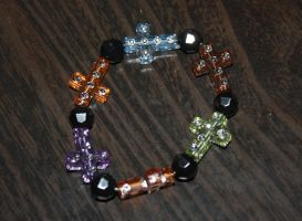 Cross Bracelet by Reitanna-Seishin