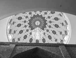 A Plafond of the Mosque by tahirlazim