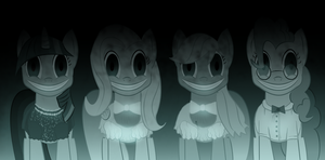 Insidious Ponies by Super-Zombie