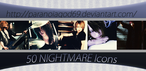 50 NIGHTMARE Icons by ParanoiaGod69