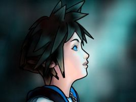 How to draw Sora of Kingdom Hearts Part 3 by SketchHeroes