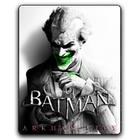 Batman Arkham City Icon Joker by Joshemoore