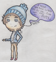 Harry Styles: I am who I am. by Nonsensical-Me