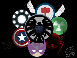 The Avengers by Nanaxxis-inxxthe-Uk