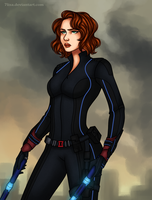 Natasha Romanoff by 7Lisa