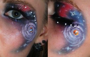 Space makeup2 by Jaqalynn