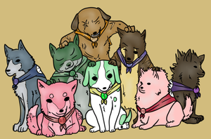 canine warriors by eeee15
