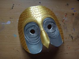 Bubo from Clash of the Titans leather mask by Masktastic