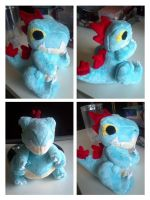Feraligatr plush by LRK-Creations