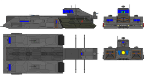 HT-305 Hyperspace Transport by airsoftfarmer