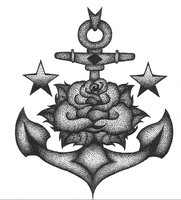 stippled Anchor by Jamie-Ventura
