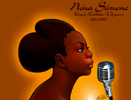 Nina Simone by KarinaDale