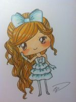 Hime Gyaru Doodle 2 by StrawberryJamSession