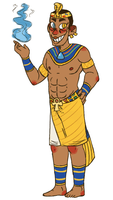. Bill Cipher the Egyptian God . by Tyrone-Pines
