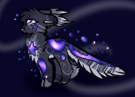 Space Creature by snowgraywhite