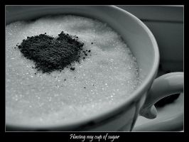 Having my cup of sugar by annbuht