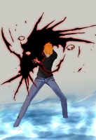 Ichigo Bleach 444 coloured by krunchh