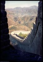 Great Wall, China. by El-Rafo