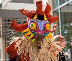 Skull Kid: Face On by DiHydrogenO