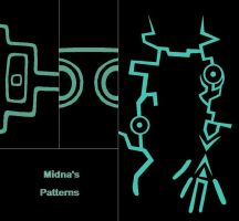 Midna arm and legs pattern by Master3Foamy