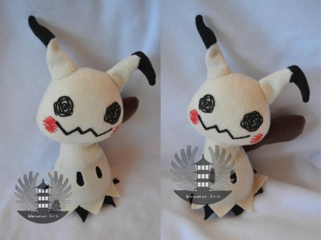 Life size Mimikyu plush - Pokemon sun and moon by ArtesaniasIris