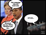 Hillary's Campaign Ship by PoliticsForPansies