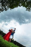 Over the Hill. Maoyuu Maou Yuusha cosplay. by Giuzzys