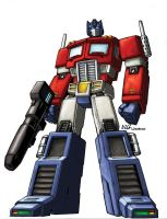Optimus Prime by LiamShalloo