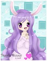 CE:Purple bunny by Ferina-san