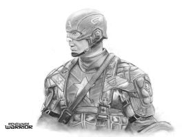 Captain America - Chris Evans by renownedwarrior