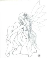 Fairy Tattoo by arie