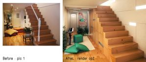 remodeling a staircase op2 by kasrawy