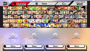 Super Smash Bros. Dream Roster V2.1 by FlaminKitsune