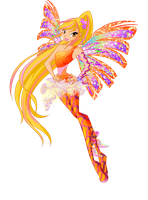Winx Club 5 season Stella Sirenix by Forgotten-By-Gods