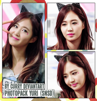 Photopack Yuri (SNSD) 1 By Curry by CurrydG