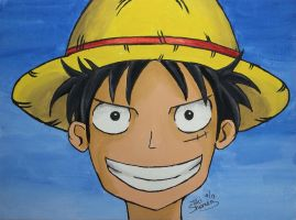 Luffy  from One Piece by TaliShemes
